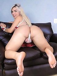 European tranny harlots get her ass banged
